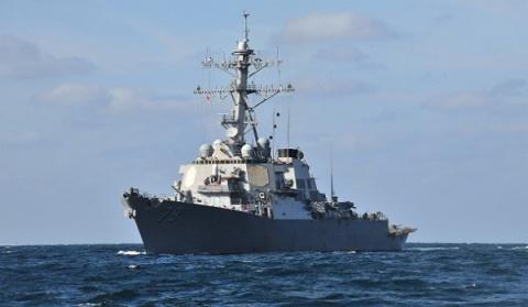 Американский эсминец USS Por…