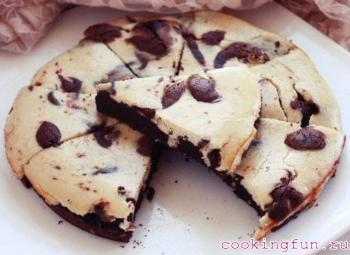 Пирожное шоколадно-банановое…