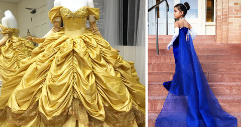 Папа-дизайнер шьет для своих детей невероятные костюмы в стиле мультфильмов Диснея