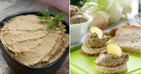 Постный паштет а-ля фау-гра: изысканный деликатес из постных продуктов. На вкус — что-то необычное!