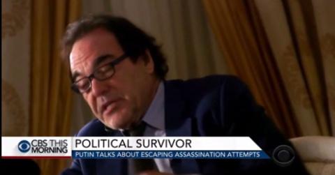 CBS: Оливер Стоун познакомит американцев с Путиным, которого они не знают