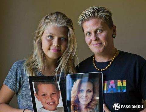 В США мать и сын сменили пол, став первой в мире трансгендерной семьей