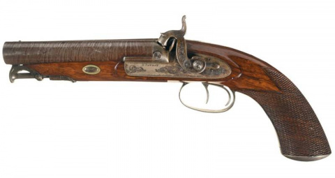 Дульнозарядные пистолеты Хау…