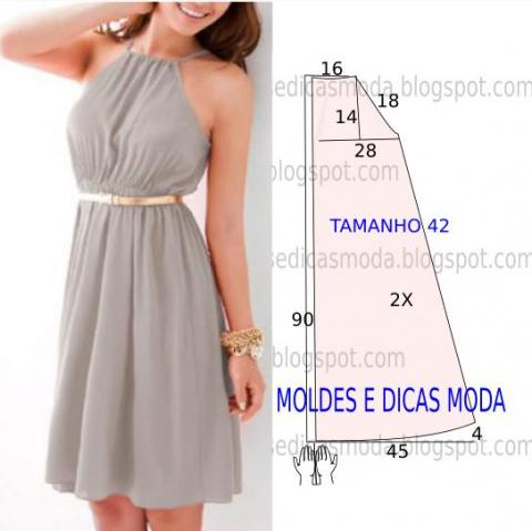 Простые выкройки летних платьев 3