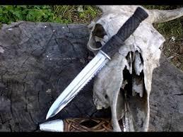 Суровый мужской нож. Охотнич…