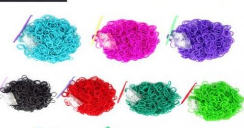 Способы плетения из резиночек