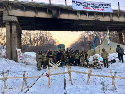 Ставка на шантаж: Блокада ЛДНР и двоемыслие Киева. Евгений Пожидаев