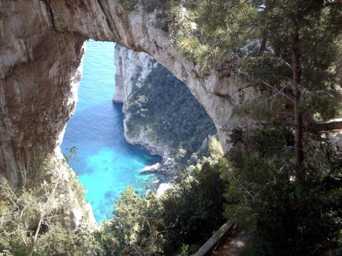 Удивительные арки, созданные природой