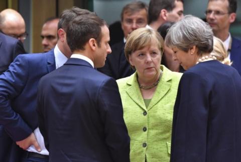 Дебют Макрона, миттельшпиль Меркель и эндшпиль Мэй: итоги саммита ЕС