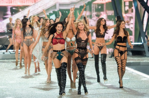 """""""Красавицы"""" в белье или парад уродов на шоу Victoria's Secret."""