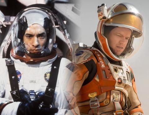 Актёры, которые «побывали в космосе»