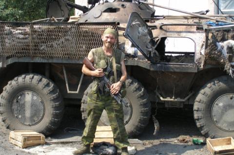 """Доброволец со Ставрополья :""""…"""