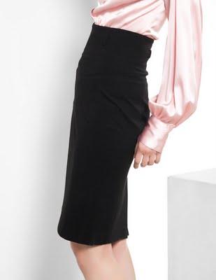 Шьем сами - юбка карандаш с высоким поясом