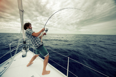 Рыбак сам офигел от такого у…