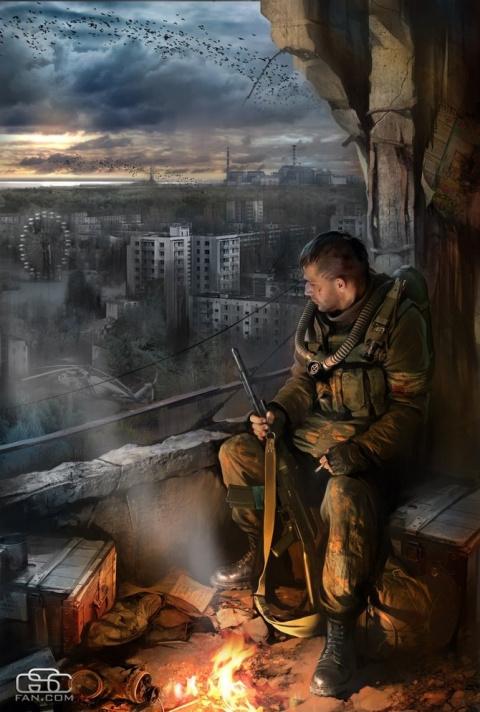 Работы Ивана Хивренко на тему Чернобыля и войны