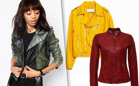 Самые модные куртки-косухи на осень 2016