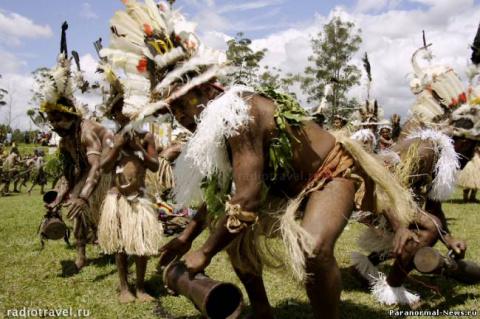 Колдовское убийство в Папуа-Новая Гвинея