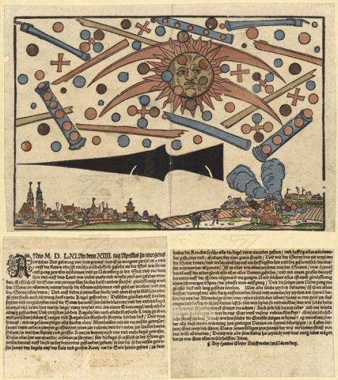 Битва НЛО в Нюрнберге в 1561 году. А была ли она?