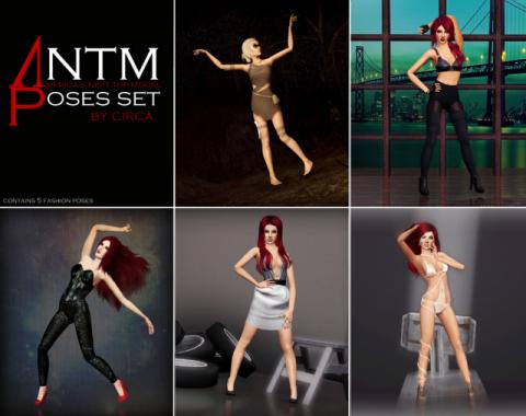 ANTM Fashion Poses by Circa