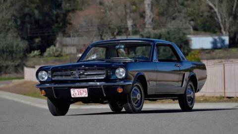 Самое первое купе Ford Musta…