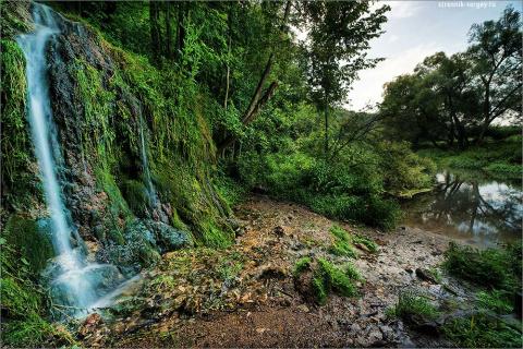Одно из чудес Подмосковья – водопад Радужный