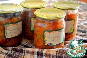 Вкусная заготовочка - салат Фасолька