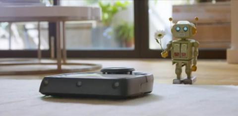 Немцы сняли рекламу про любовь робота