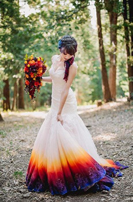 Свадебное платье своими рука…