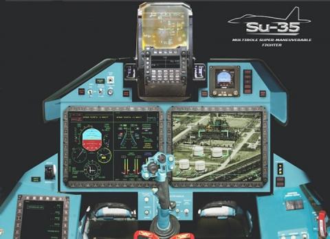 Китай заказал партию Су-35 с панелью управления на русском языке