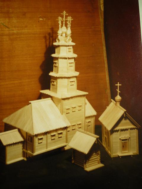 Макеты церквей, часовен.