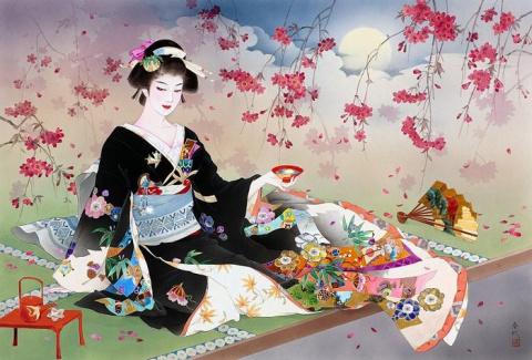 Японские красавицы Харуё Морита