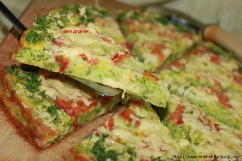 Кабачковая пицца - просто и …