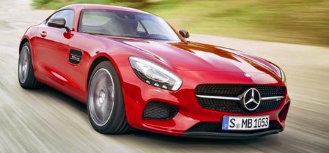 Городская легенда. Mercedes рассекретил новый спорткар AMG GT
