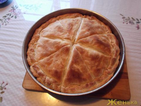 Тиропита сфолята (греческий пирог с сыром)