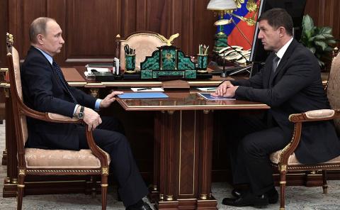 Встреча с президентом компан…