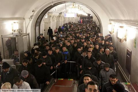 Кто наживается на гастарбайтерах в России?