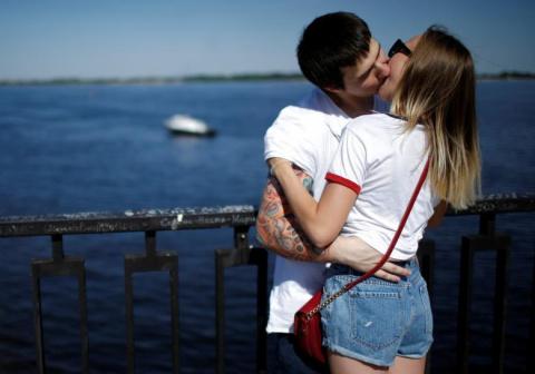 Влюблённая Россия