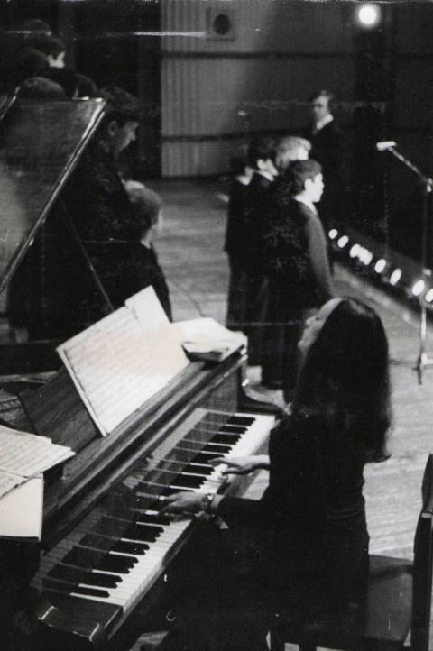 Елена Карапетян - концертмейстер
