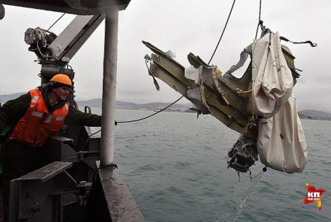 Водолазы рассказали, почему на месте крушения Ту-154 нет целых тел