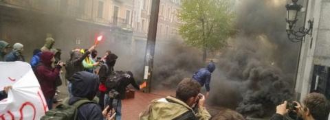 В Киеве радикалы собирались …