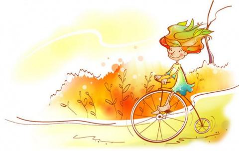 После падения с велосипеда о…