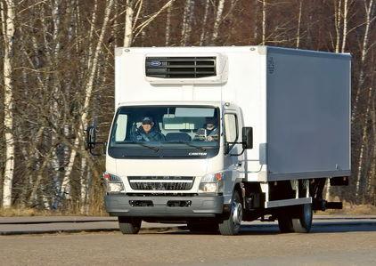 Mitsubishi Fuso Canter: курс…