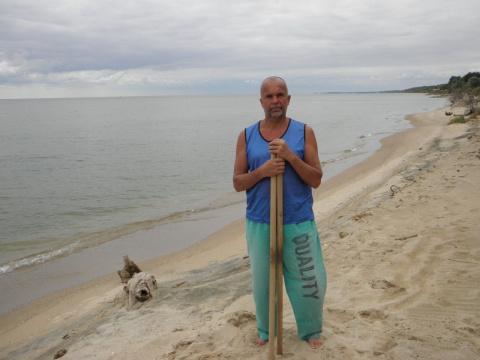 Азовское море, отпуск, тишина, Для тренировки лучше места не придумать.