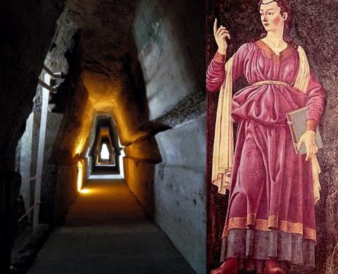 Загадочная пещера пророчицы Сивиллы - древний портал в подземный мир