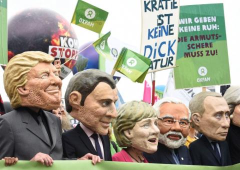 Гамбург. G20 здесь не рады