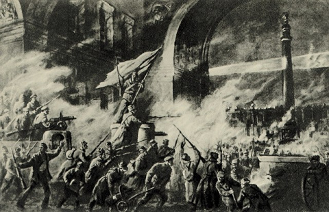 «Троцкий против Сталина» Попытка троцкисткого переворота 1927г.