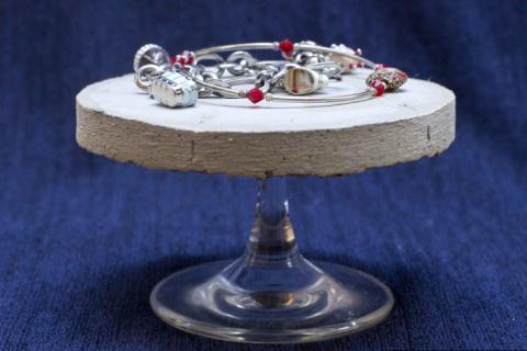 Бетонная сервировка стола (подборка)