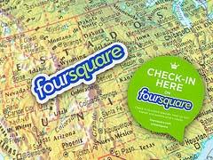Foursquare: реклама по вызову