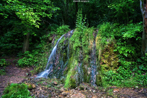 Активный отдых.Одно из чудес Подмосковья – водопад Радужный