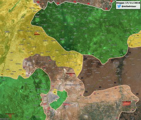Битва за Алеппо. 18.11.2016